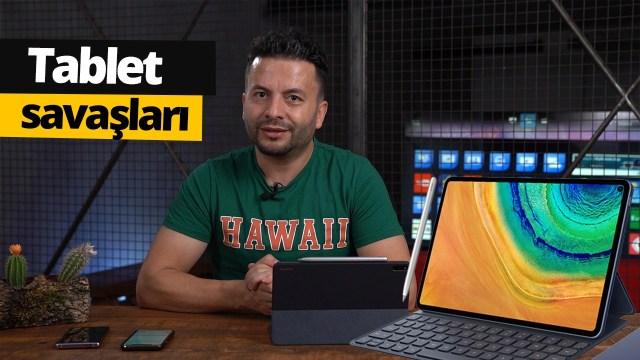 Huawei MatePad Pro elimizde! İlk bakış!