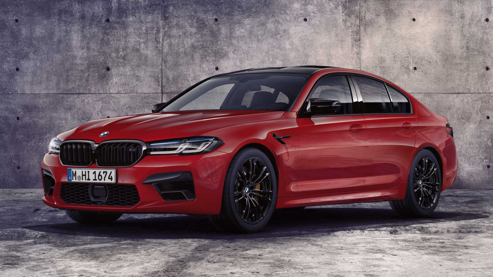 BMW M5 Competition Faces Porsche Taycan Turbo S and Rimac Nevera in Drag Race