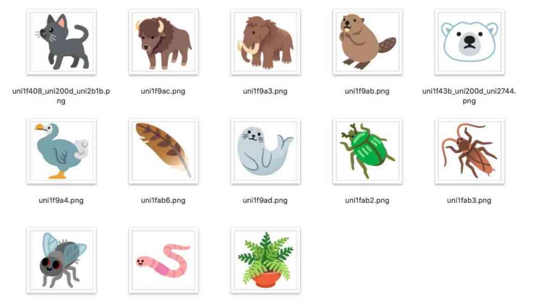 Android 11 emojileri