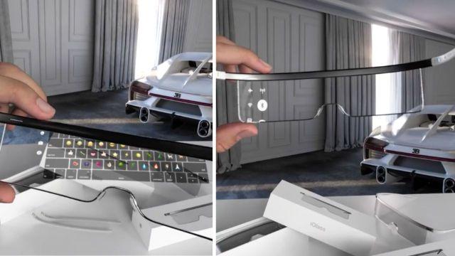 Apple Glass konsept tasarım