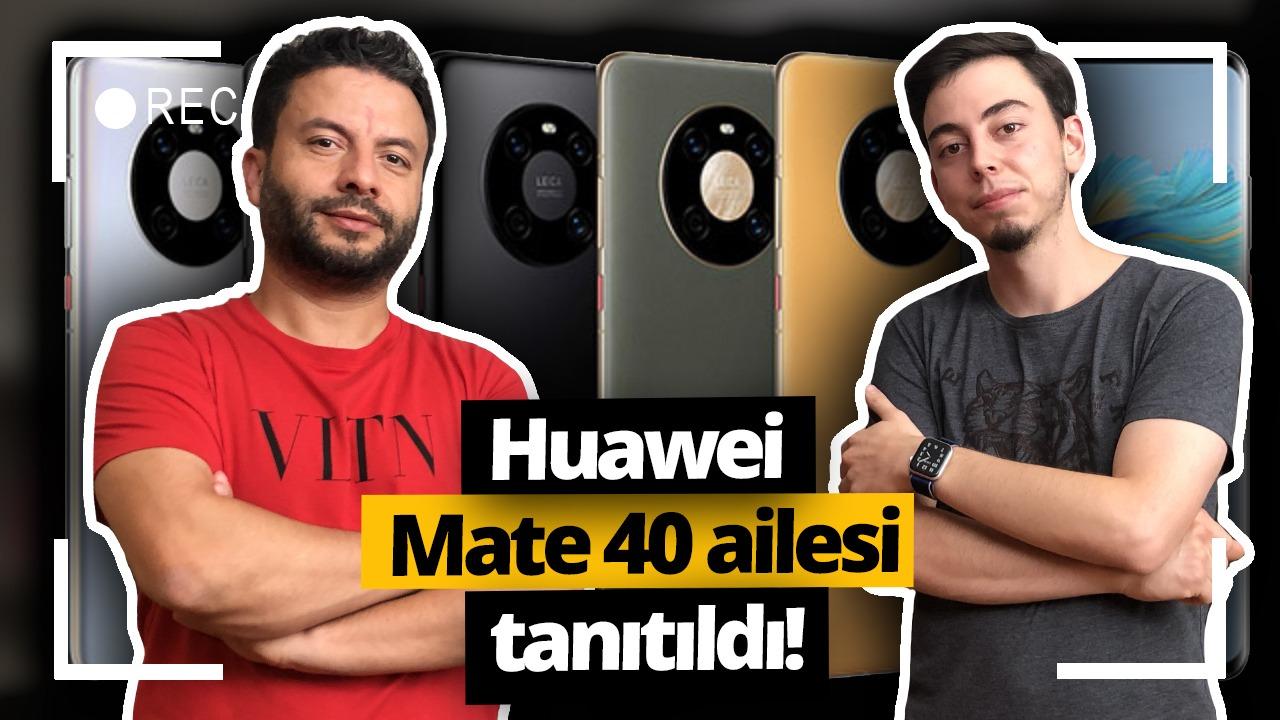 huawei mate 40 serisi, canlı yayın
