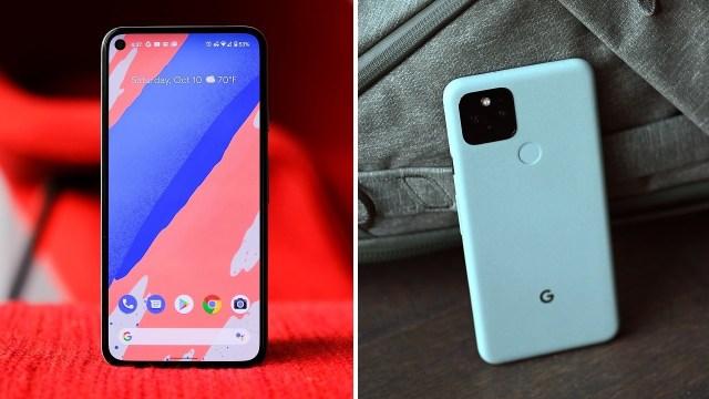 Google Pixel 5 ekran sorunu