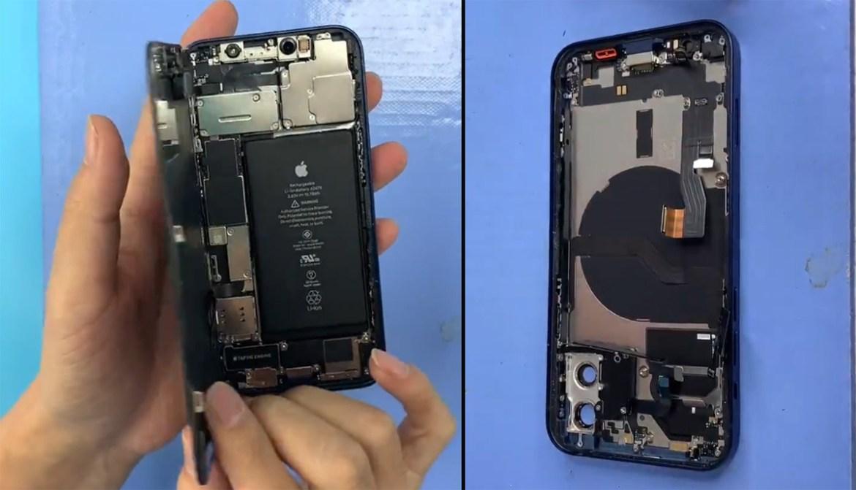 iPhone 12 parçalarına ayrılıyor