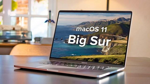 MacOS Big Sur 11.0.1 Beta 1