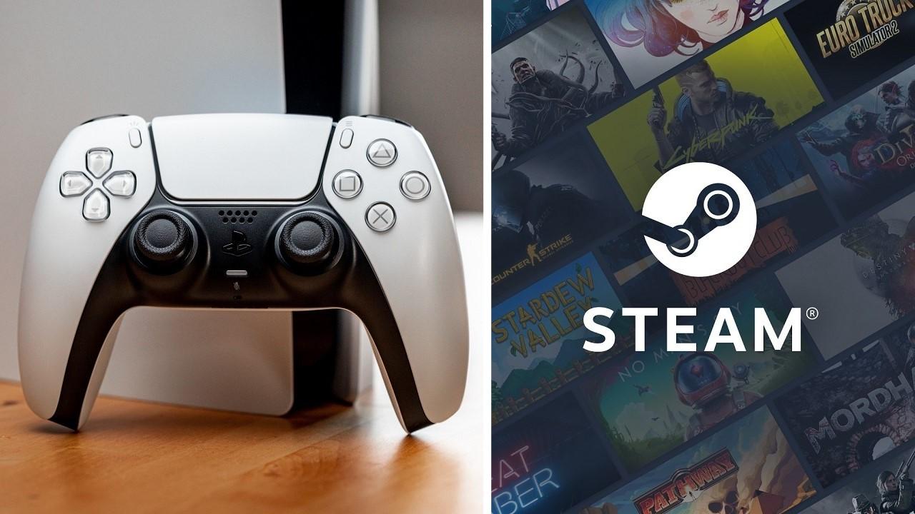 Steam PS5 DualSense desteği
