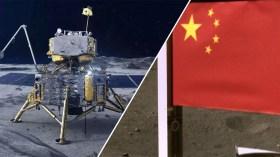 Chang'e 5 uzay aracı Ay'a bayrak dikti!