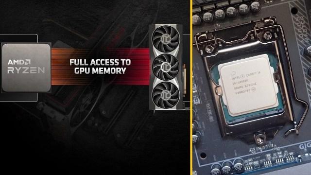 Intel AMD Smart Access Memory özelliği