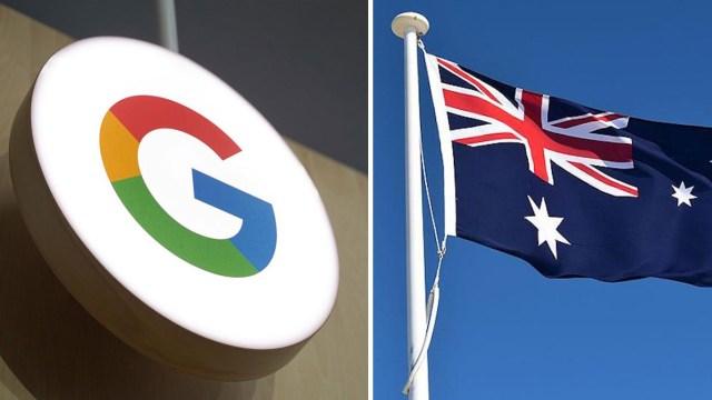 Google Avustralya tehdit