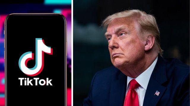 TikTok Trump ile ilgili bazı içerikleri kaldırıyor