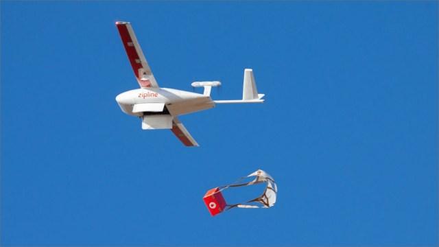 Drone ile Covid-19 aşısı taşınacak