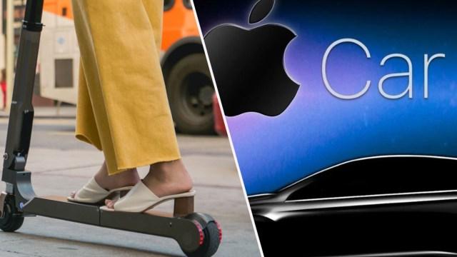 apple car, apple scooter, elektrikli scooter, apple kia ortaklığı