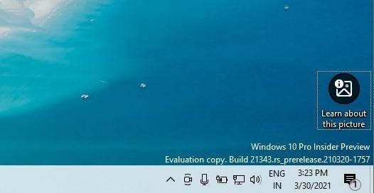 Windows 10 Sun Valley
