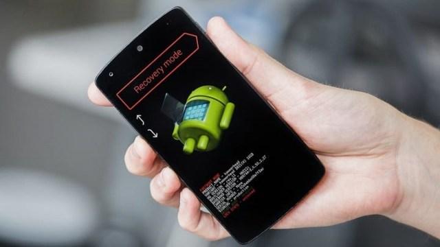 Android recovery mod nedir, nasıl girilir? Menüsünde neler var?