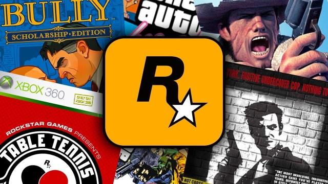 Rockstar Games'in en iyi 10 oyunu