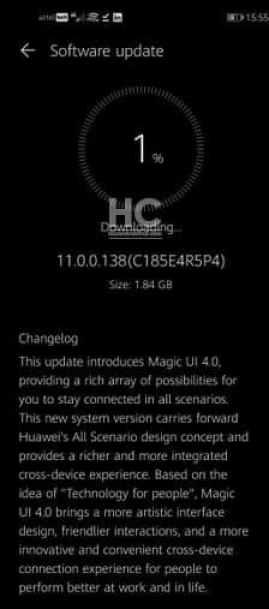 honor 20, v20 magic ui 4