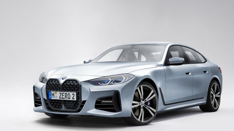 Performansıyla dikkat çeken 2022 BMW 4 serisi görüntülendi