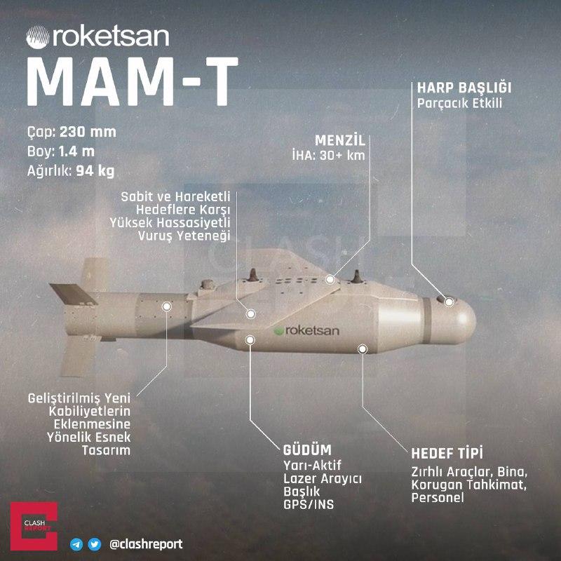 MAM-T özellikleri