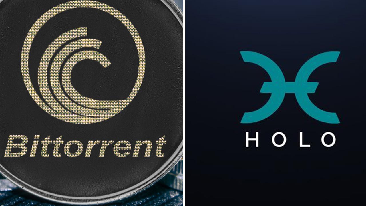 BitTorrent coin BTT ve Holo HOT fiyatı
