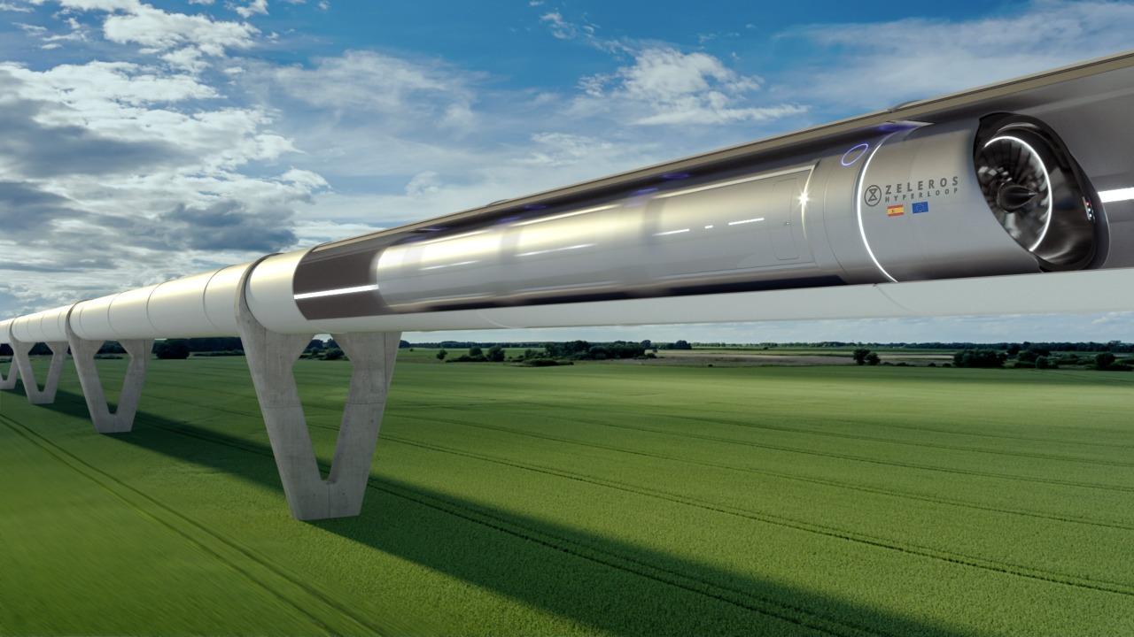 uçakların yerini hyperloop trenler alacak