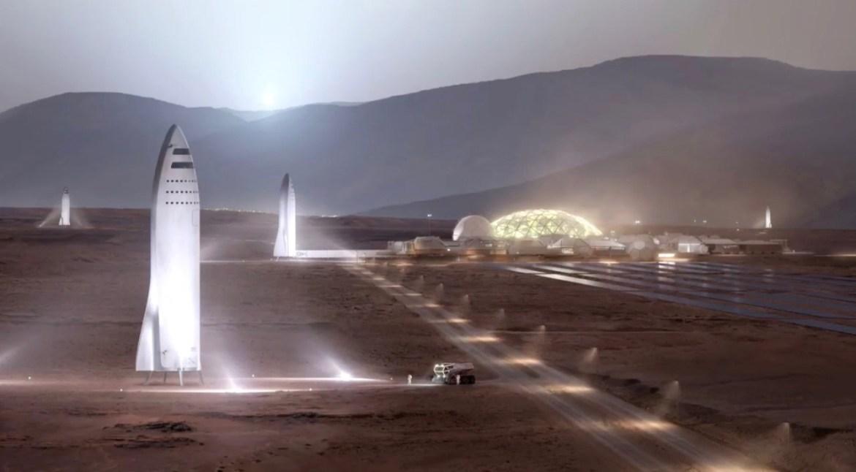 SpaceX Mars'ta koloni kurmak istiyor