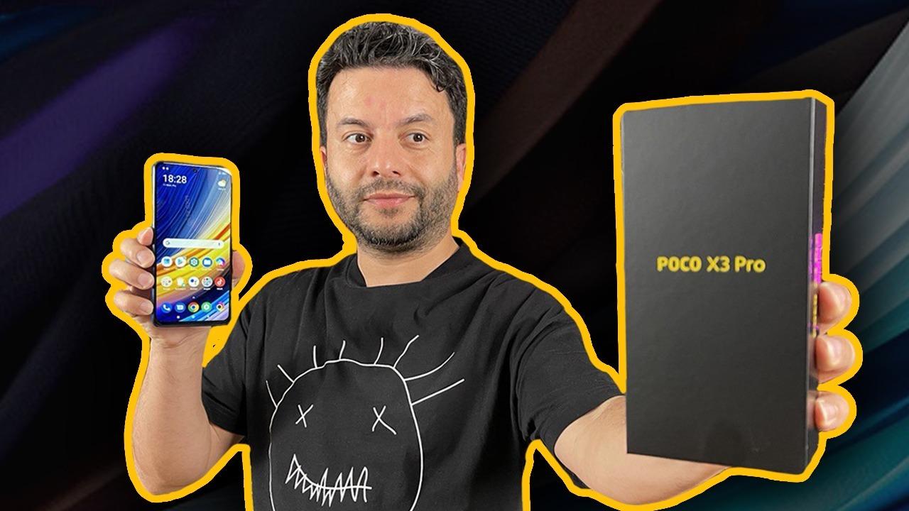 POCO X3 Pro kutu açılışı ve ön inceleme