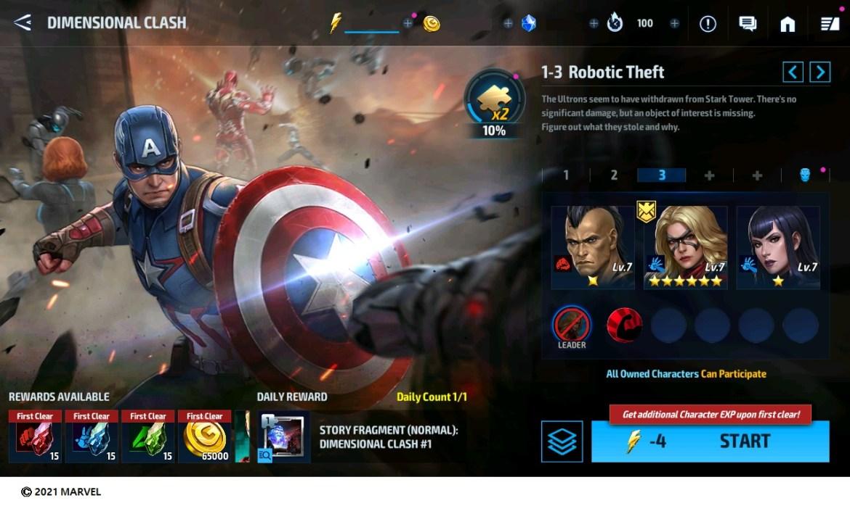 Marvel Future Fight güncelleme