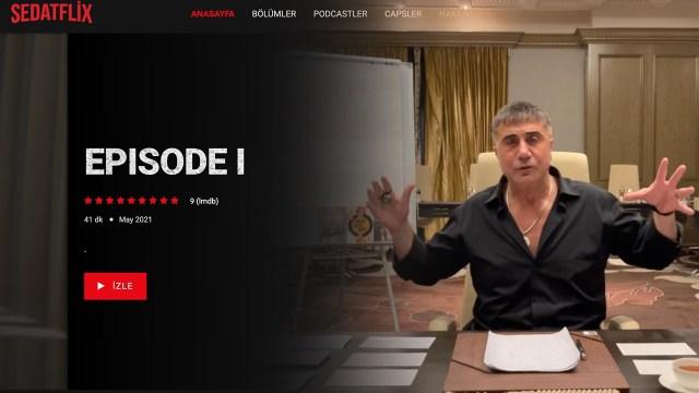 Sedat Peker'e Netflix benzeri site yapıldı