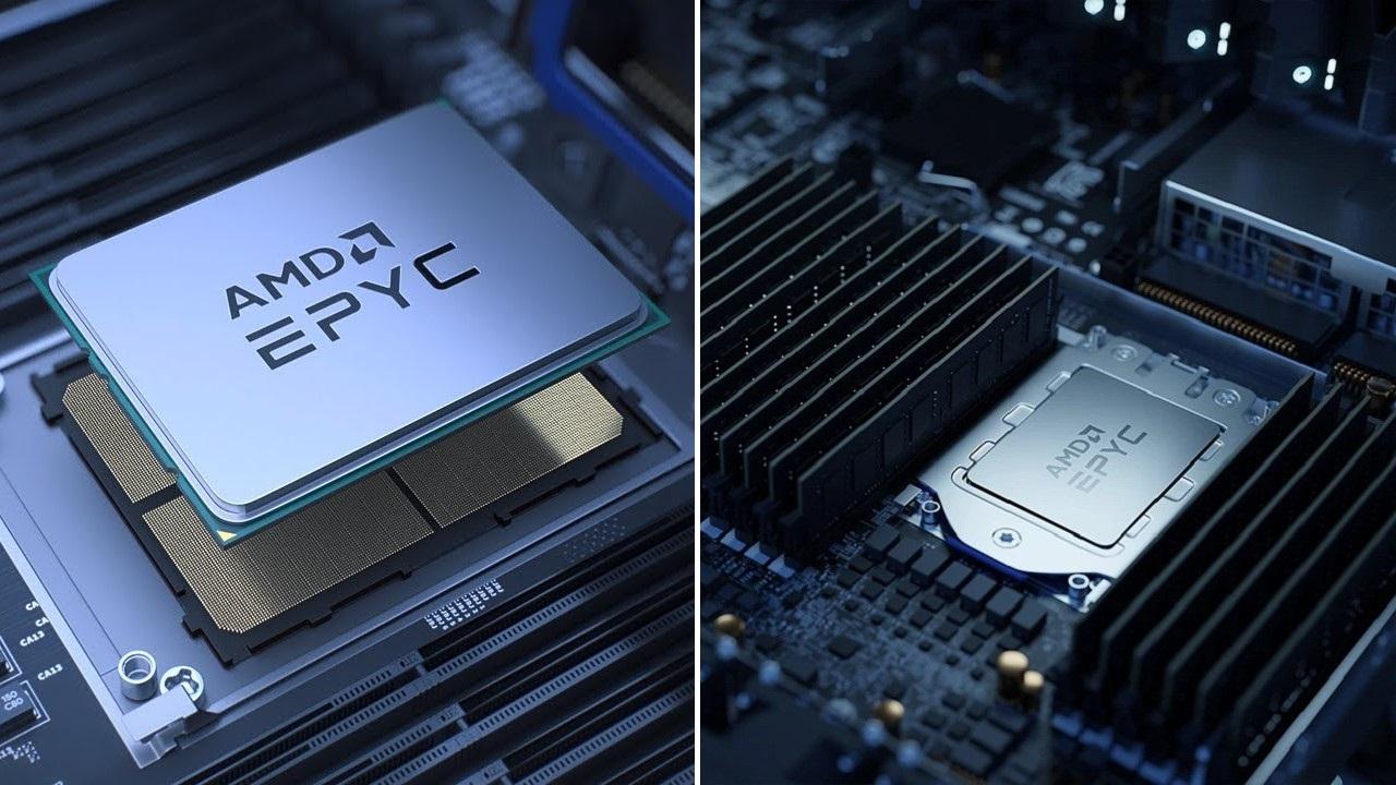 AMD EPYC sunucu işlemciler