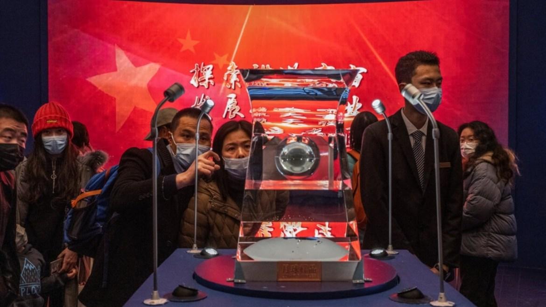 Çin, Ay'a uzay aracı gönderdi.