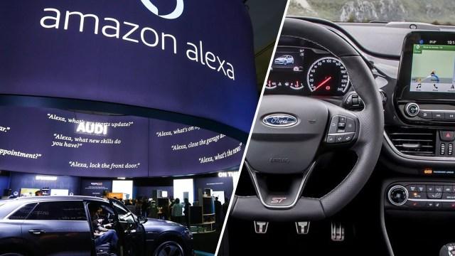 ford araçlar kablosuz güncelleme, ford Power-up, ford alexa, ford yazılım güncellmesi