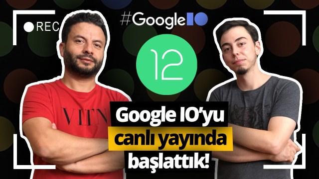 Google I/O etkinliğinde Android 12 tanıtıldı!