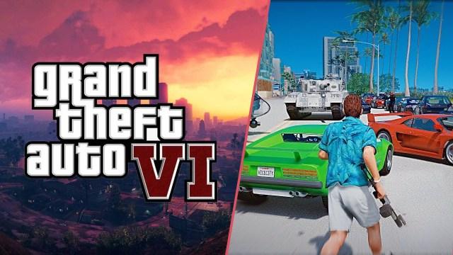 GTA 6'da Vice City iddiası! Harita sızdırıldı