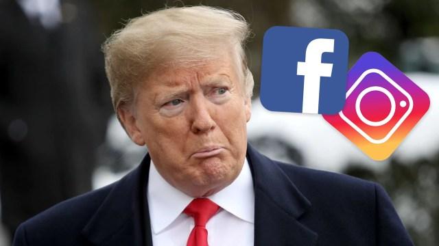 Instagram ve Facebook, Trump'la ilgili kararını açıkladı