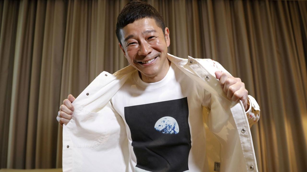 Japon iş adamı uzaya gidiyor.