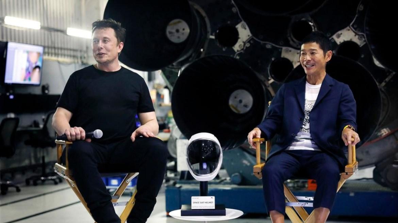 Elon Musk Ay turizmi.