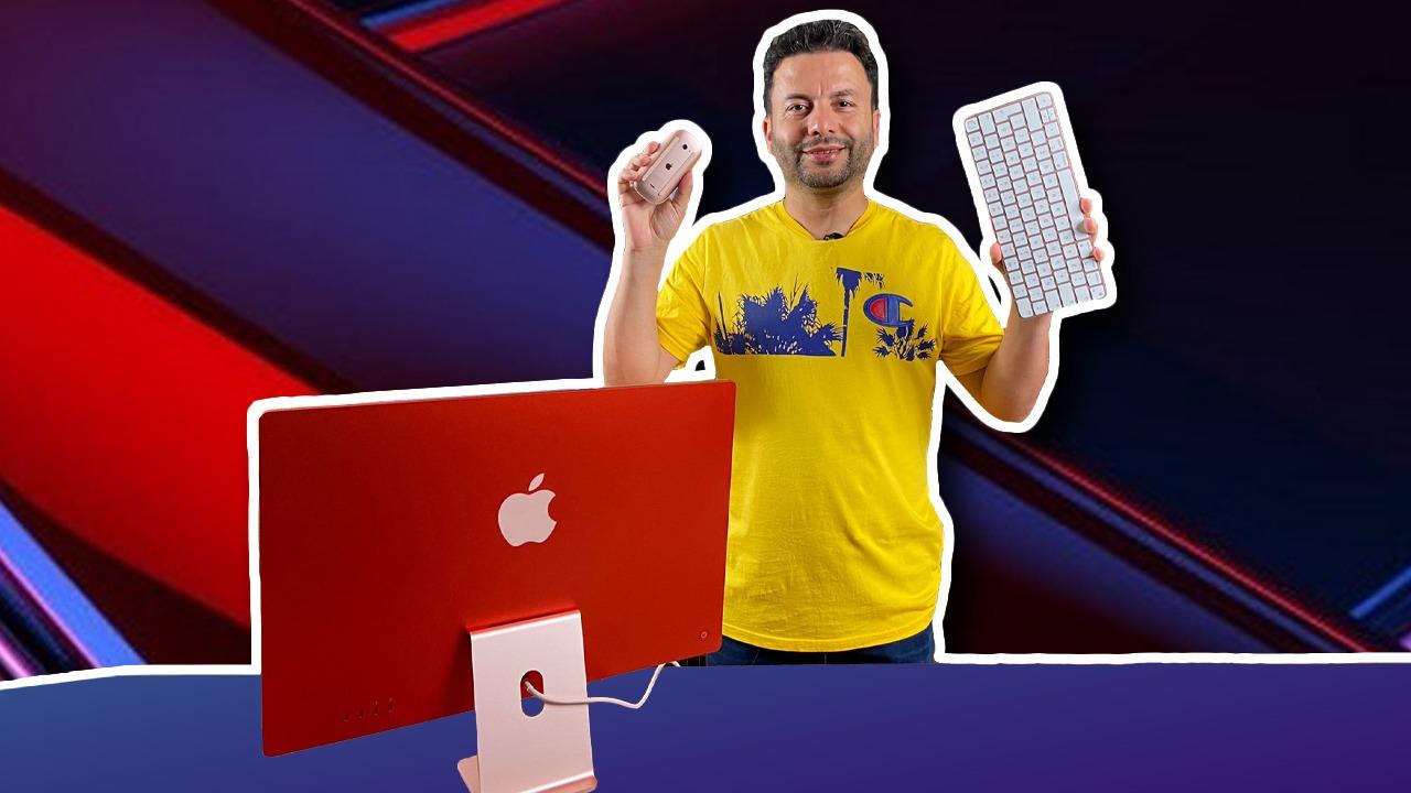 M1 işlemcili iMac kutu açılışı