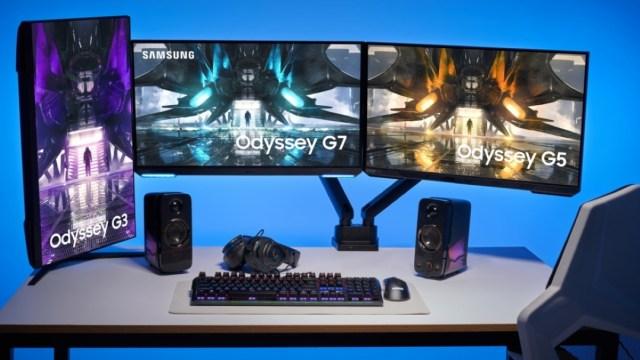 Samsung, 2021 Odyssey oyuncu monitörlerini duyurdu
