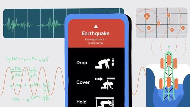 Android deprem uyarı sistemi Türkiye