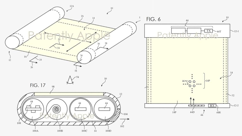 apple yuvarlanabilir ekran, yuvarlanabilir ekranlı iphone, yuvarlanabilir iphone