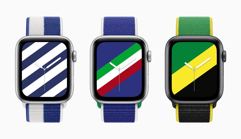 Apple Watch kordonları Yunanistan, İtalya, Jamaika