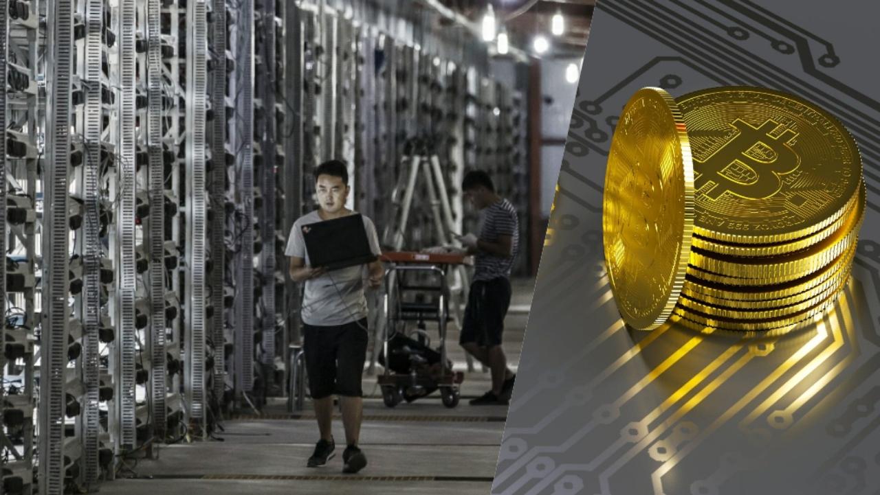 Bitcoin madenciliği Çin'de yasaklandı.