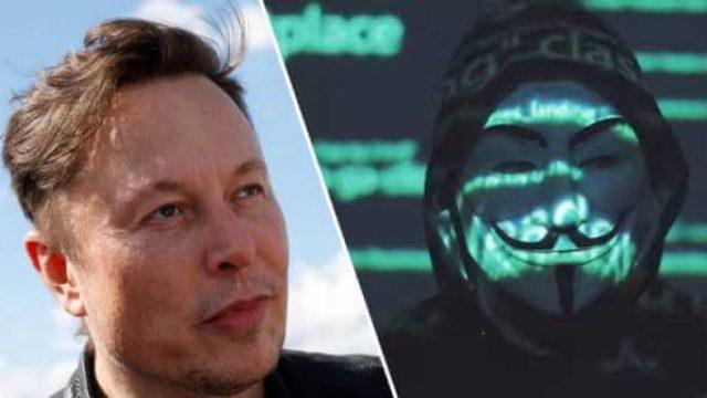 Elon Musk Anonymous'u bu paylaşımla tiye aldı