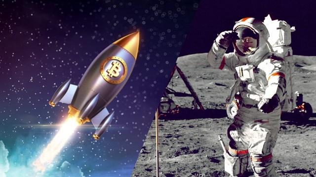 Elon Musk şokta: Ay'a ilk Bitcoin mi gidiyor?