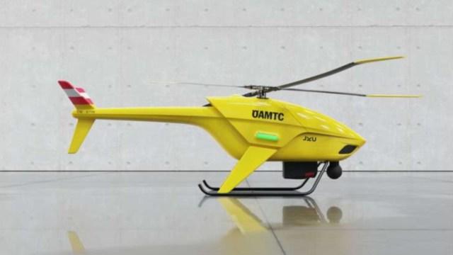 Arama kurtarma için otonom drone