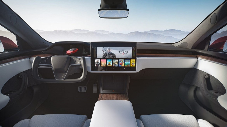 Tesla Model S PS5