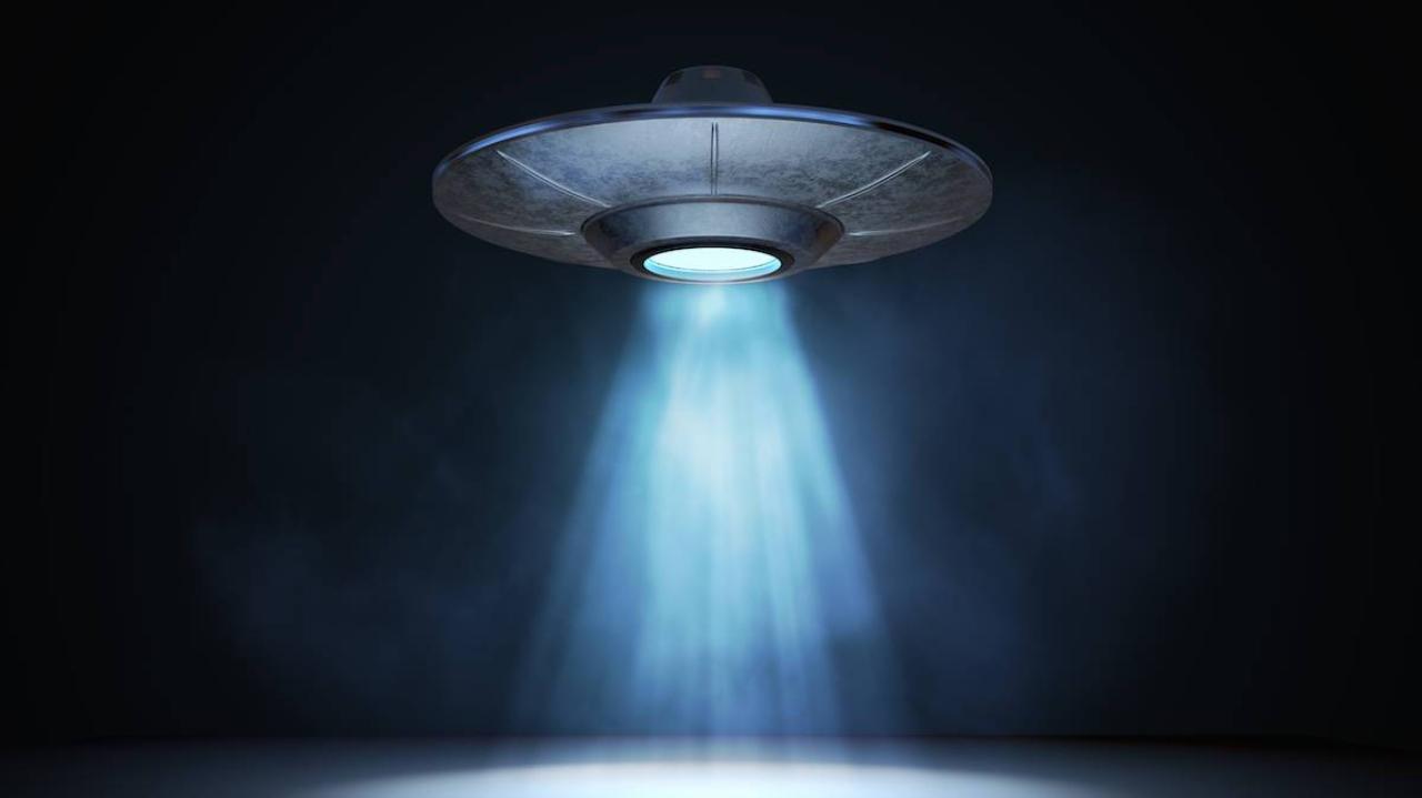 UFO görüntüsü çekildi.
