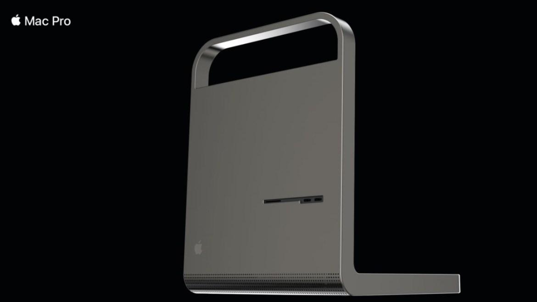 Yeni Mac Pro tasarımı.