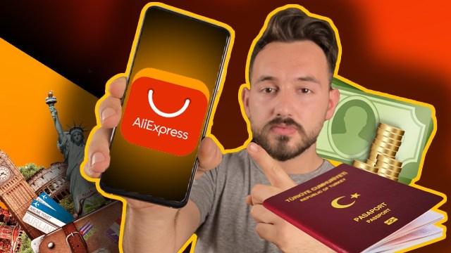 AliExpress yurt dışı telefon