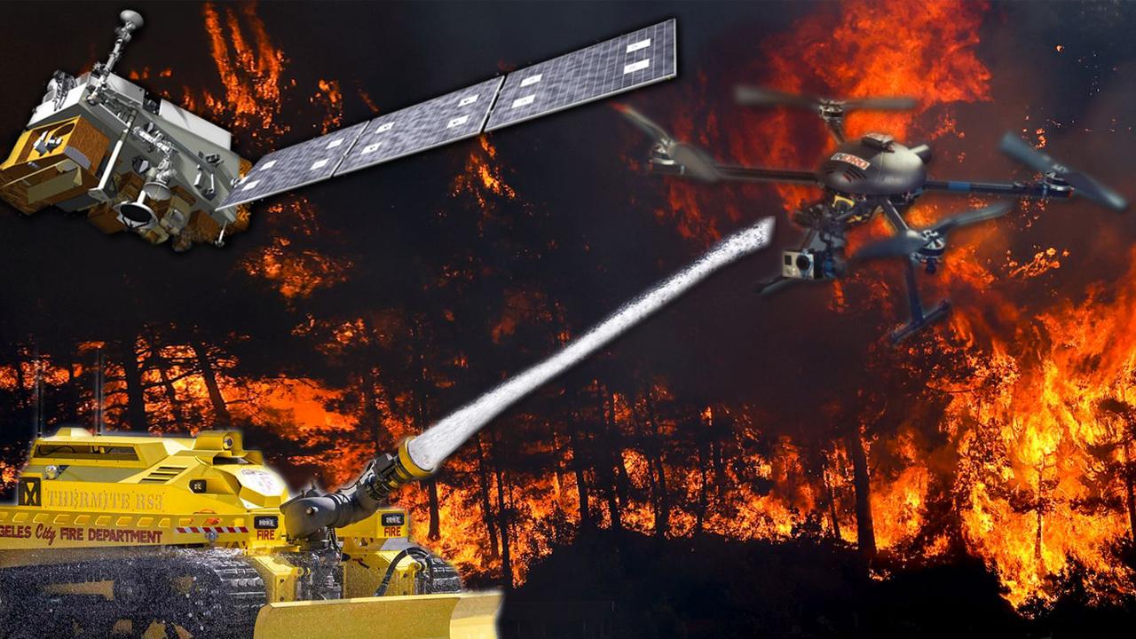 orman yangını, orman yangını teknolojisi, yangınla mücadele teknolojisi,