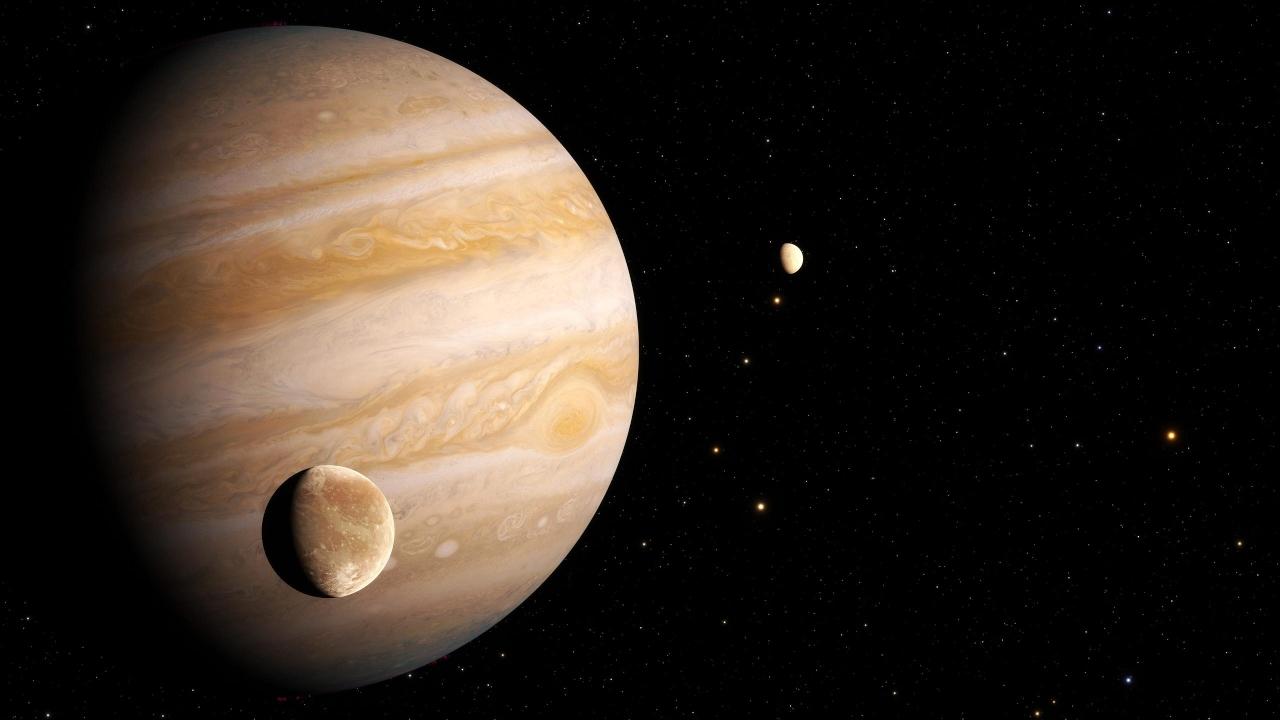 Jüpiter'in uydusu Ganymede